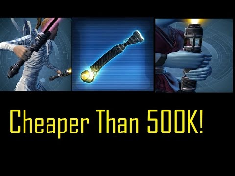 SWTOR: Best Lightsabers for Under 500,000 Credits