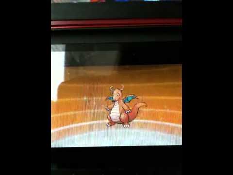 Pokemon Black/White Dragonair evolves