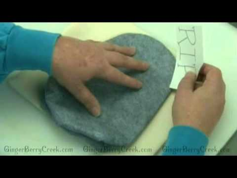 Creating aTransfer and Transferring to fabric for Primitive Doll Patterns