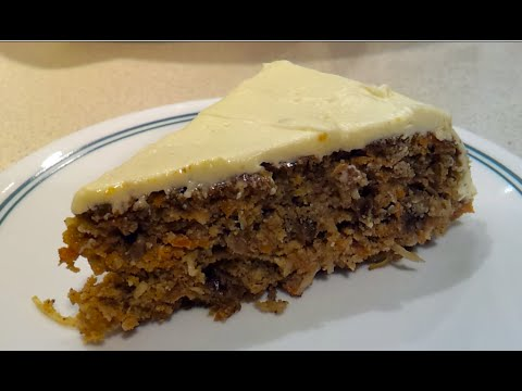 How to make a delicious Low Carb Carrot Cake