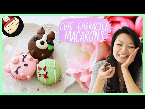 【Ketsourine】Cute Character Macarons in the Bay Area!