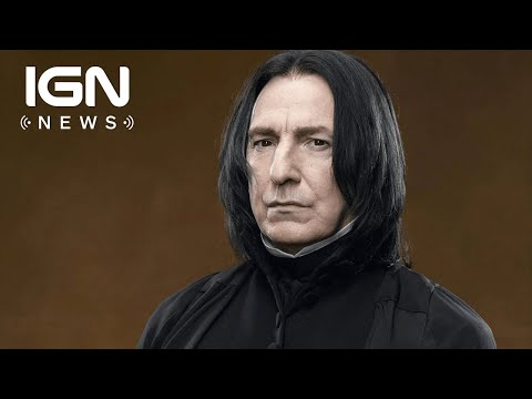 Harry Potter: Alan Rickman's Letters Reveal He Was 'Frustrated' by Snape Role - IGN News