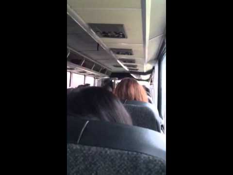 Greyhound Bus Driver gets very cranky