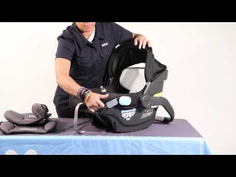 SERVICE IN SECONDS - Removing the UPPAbaby MESA Fabrics