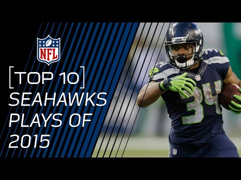 Top 10 Seahawks Plays of 2015 | NFL