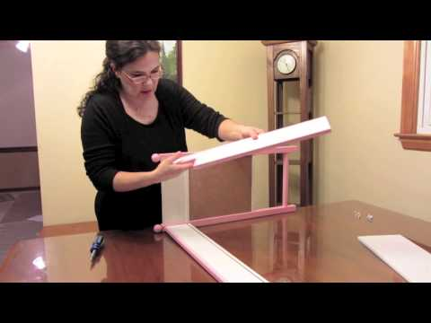 Loft Bed & Desk for 18 Inch Dolls like the American Girl Doll