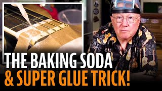 The baking soda and super glue trick