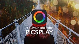 PICSPLAY 2 : Pro-Level Photo Editor (iPhone, iPad) by JellyBus