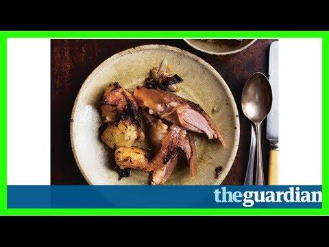 Nigel slater's christmas: roast goose, apple sauce, stuffing & gravy
