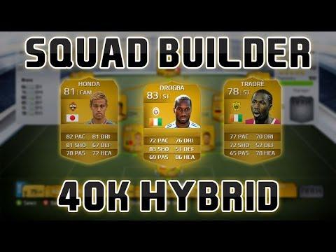FUT Squad Builder - 40K Hybrid   FIFA 14