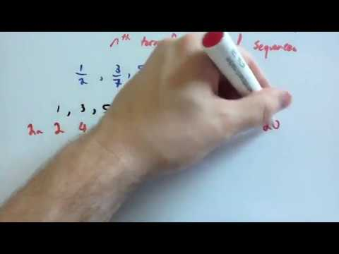 nth term for fractional sequences - Corbettmaths