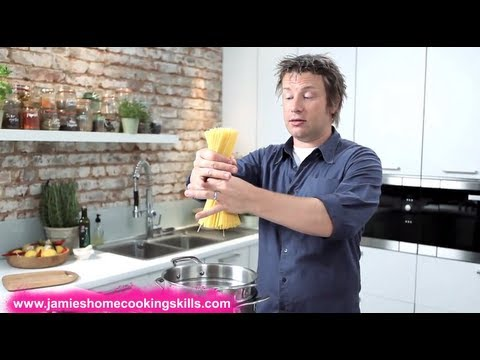 Jamie Oliver's tips for cooking great pasta