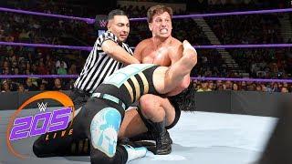 Mustafa Ali vs. Drew Gulak: 2-out-of-3 Falls Match: WWE 205 Live, July 18, 2017
