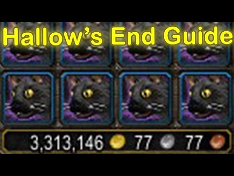 WoW Legion Hallow's End Guide (Achievements, Headless Horseman's Mount, Pets, Gold) [WoW Gold Guide]