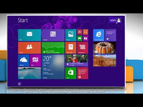 How to Change HomeGroup Settings in Windows® 8.1