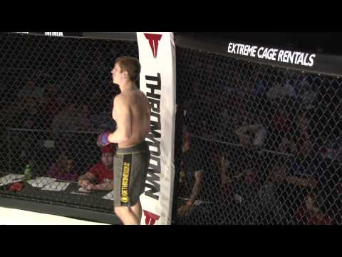 Caged Aggression IX  (Night 1) Fight 2. Jamie Tigges vs Austin Hubbard