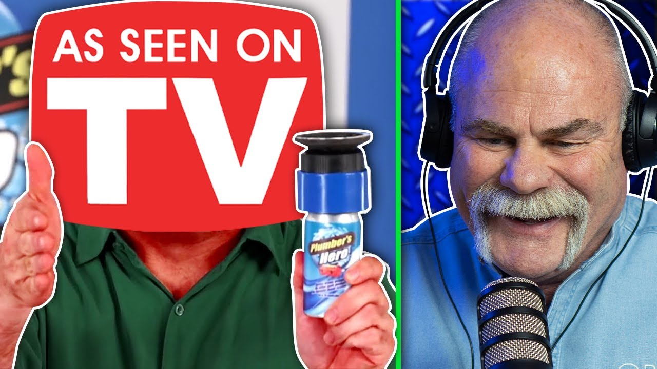 Real Plumber Reacts to As Seen on TV Plumbing Gadgets