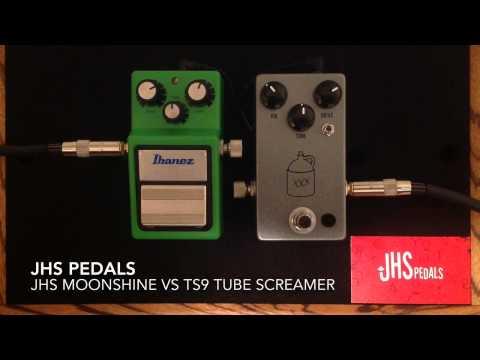 JHS Moonshine vs Ibanez Tube Screamer