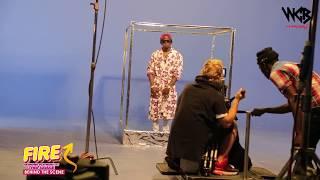 Diamond Platnumz - Fire ( Behind The Scene part 3)
