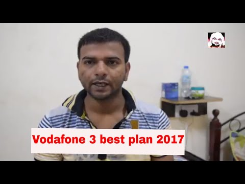3 best plan vodafone Get Unlimited Calls + 1GB Data per Day with Vodafone Super Plans 2017/2018