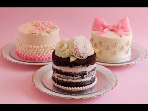 3 easy mini buttercream cakes- Rosie's Dessert Spot