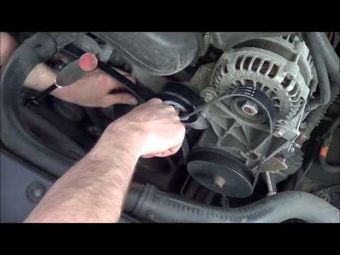 3-8-14 How to change serpentine belts on a 2007 GMC Yukon
