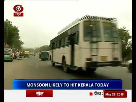 Monsoon likely to reach Kerala today