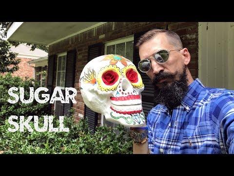 Sugar Skull - Day of the Dead - Dia de los Muertos Skull Tutorial