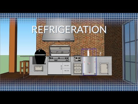 Outdoor Kitchen Refrigeration Options | BBQGuys.com