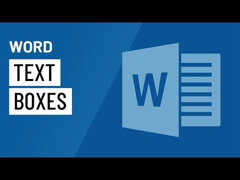 Word 2016: Text Boxes