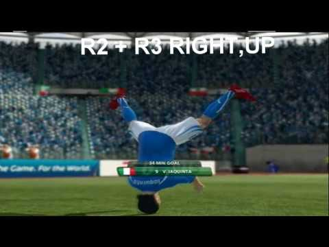 fifa world cup 2010 south africa *new* celebration tutorial ps3/xbox360