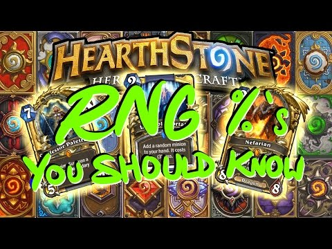 Hearthstone: RNG Percentages You Should Know!
