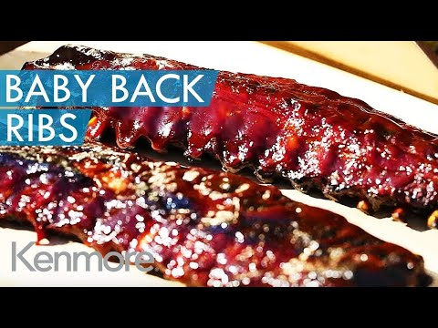 How to Grill Baby Back Ribs: Smoked Pork Ribs Recipe | Kenmore