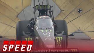 John Force breaks down in tears as Brittany wins Top Fuel title | 2017 NHRA DRAG RACING