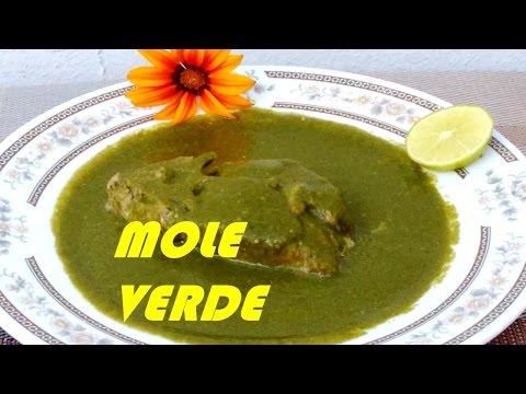 Como Hacer MOLE VERDE O PIPIAN EN CARNÉ DE PUERCO/! Cocina Tradicional Mexicana