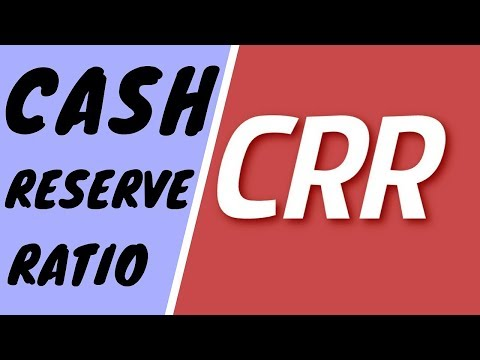 What is CRR ? CASH RESERVE RATIO  | IN HINDI | # Banking Terms