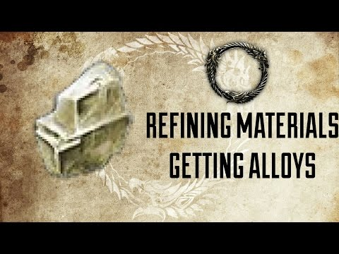 ESO | Refining Ores For Getting Tempering Alloys