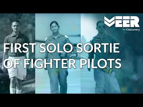 Indian Air Force Academy E1P2 | The First Solo Sortie of Fighter Pilots | Veer by Discovery