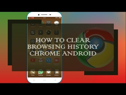 How to Clear Browsing History Chrome Android