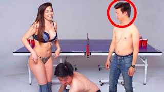 20 INAPPROPRIATE PING PONG MOMENTS SHOWN ON LIVE TV