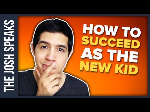 How To SUCCEED as a NEW KID at a NEW SCHOOL