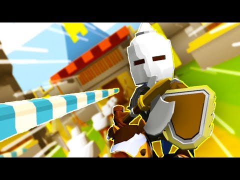 I SHALL NEVER BE BEATEN!!... MOSTLY (Jousting Time VR HTC Vive)
