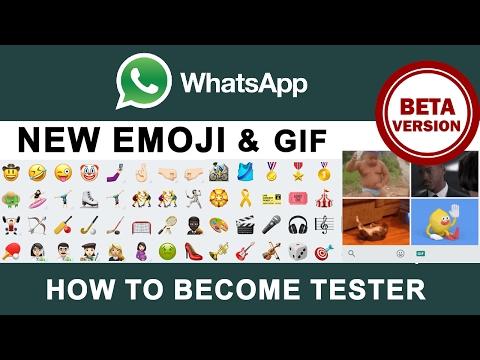 WhatsApp New Emoji & GIF Feature UPDATE | BETA Testing | How To Become Tester