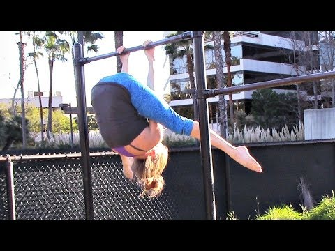 High Bar Gymnastics Strength Workout With Coach Meggin!