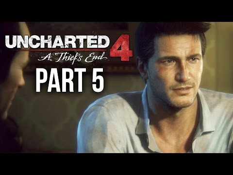 Uncharted 4: A Thief's End - Walkthrough/Gameplay Part 5-1080p
