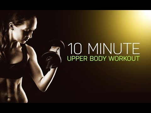 10 Minute Upper Body Workout (FOLLOW ALONG REAL TIME!!)