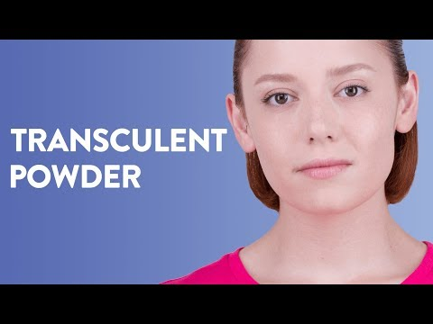 How To Use Transculent Powder?
