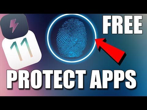 Free Tweak To Protect Apps With Touch Id   IOS 11 - 11.1.2   Electra Jailbreak