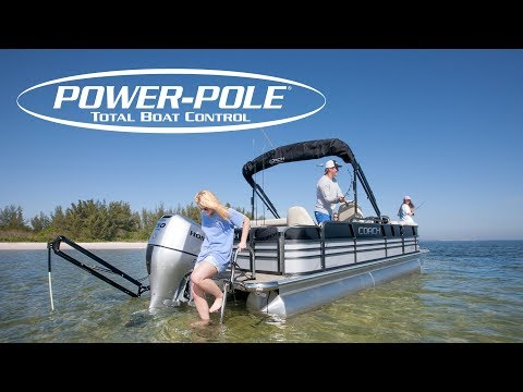 Installing a Power-Pole anchor on a Pontoon boat