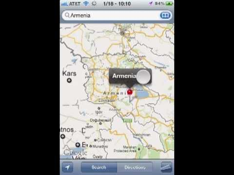 iPhone 4 Google map mistake